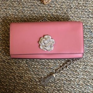 Michael Kors Rose diamond decorated purse